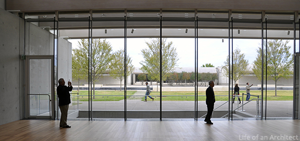 Renzo Piano Kimbell Museum Interior Entry