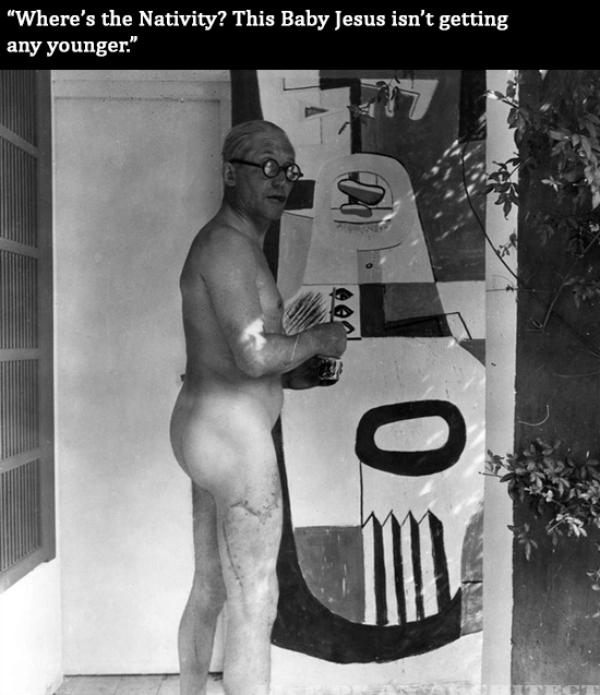 Architect Le Corbusier