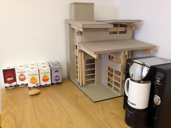 Our new Tassimo brewing system