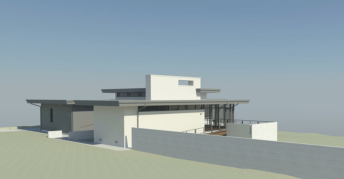 KHouse Modern BIM side perspective October 2013