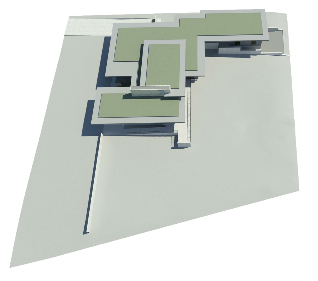 KHouse Modern BIM site model Aug 2013