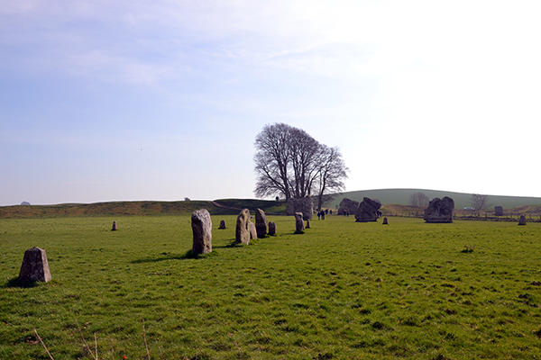 The Town of Avebury