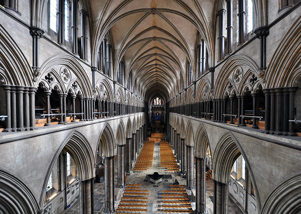 Salisbury Cathedral Central Nave