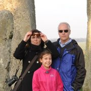 The Borson Family at Stonehenge