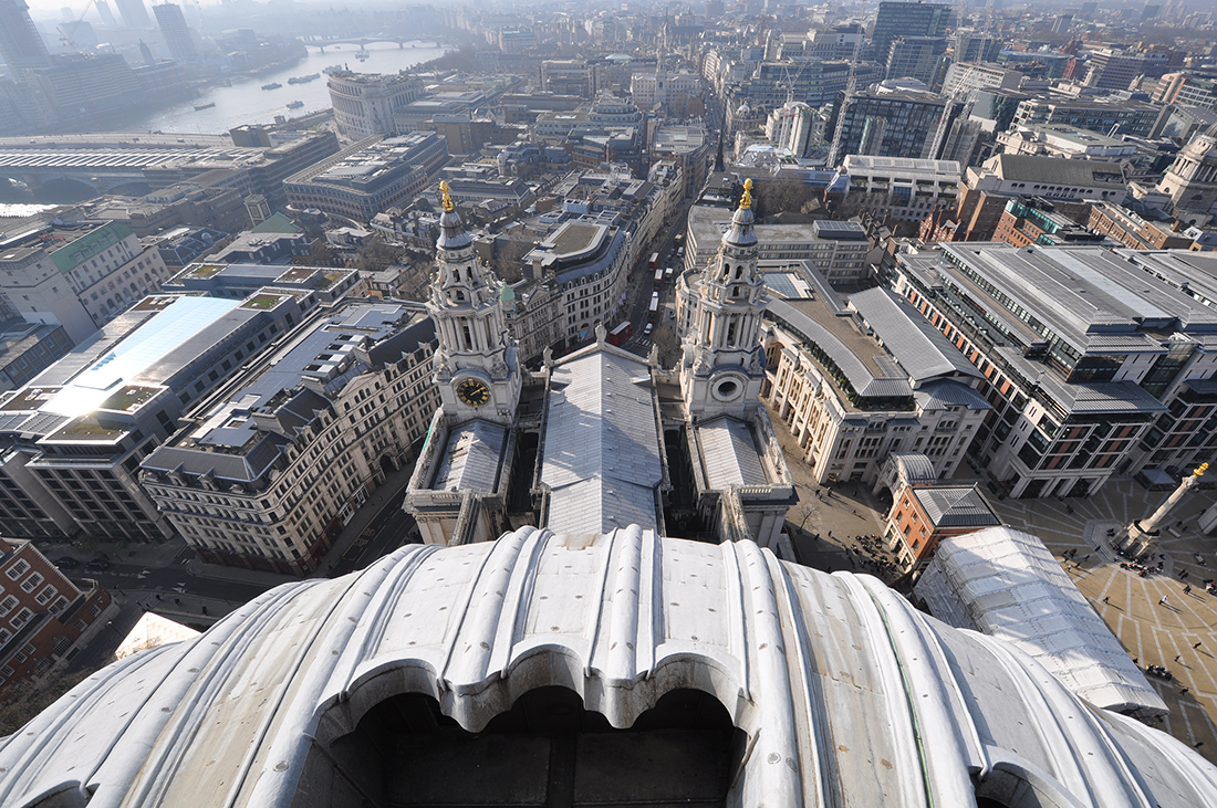 View from the Dome of Saint Paul's Cathedral
