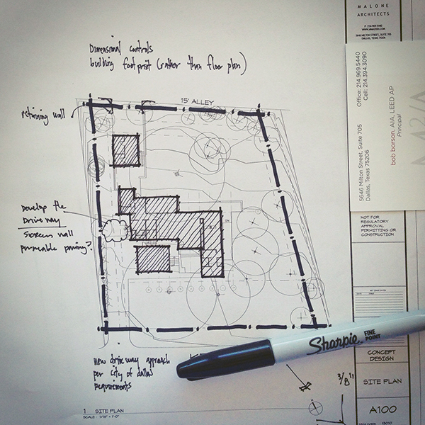 Architectural sketching or how to sketch like bob life for Site plan drawing online