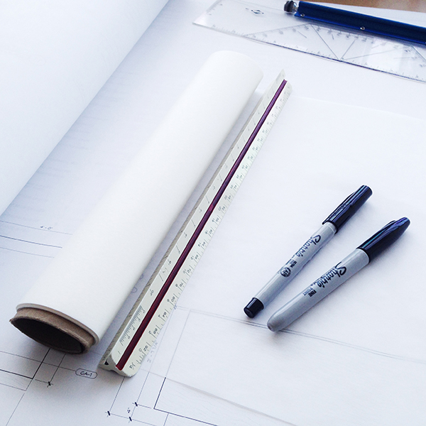 Architectural Sketching Supplies