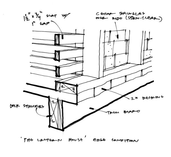Lantern Playhouse Front detail sketch 01