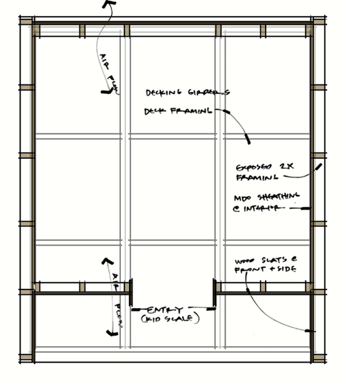 The lantern house archiweb 3 0 for Playhouse floor plans