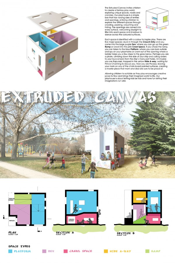 Michelle Smith Cowman and Fadilah Hamid: The Extruded Playhouse