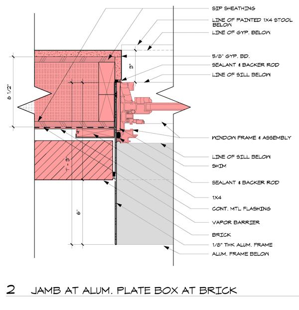 Aluminum Window Details : Modern window detail the chouse archiweb