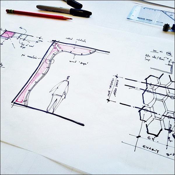 ArchiSketch Bob Borson Nobu design sketches