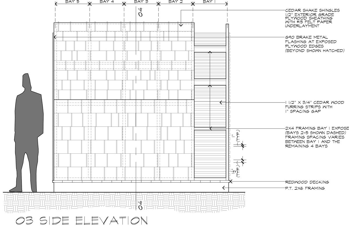 Lantern Playhouse 03 Side Elevation