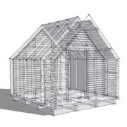 Lantern House - transparent assembly