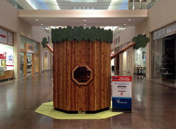 Hollow Tree House at Northpark