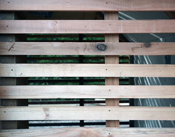 Lantern Playhouse cedar slats