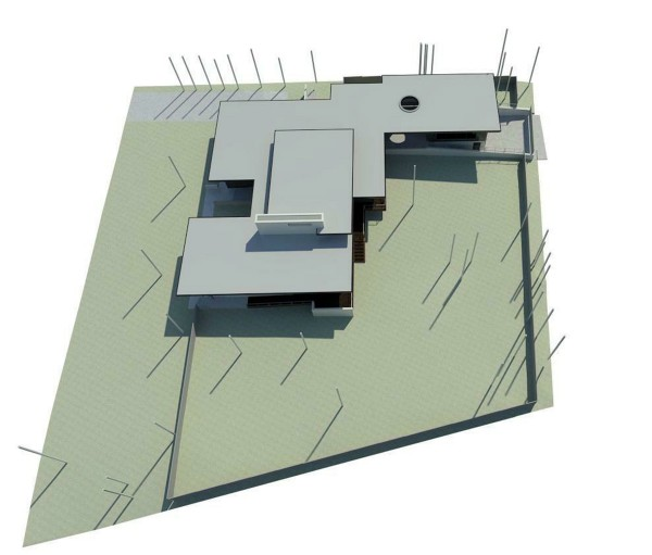 KHouse Modern Roof Plan