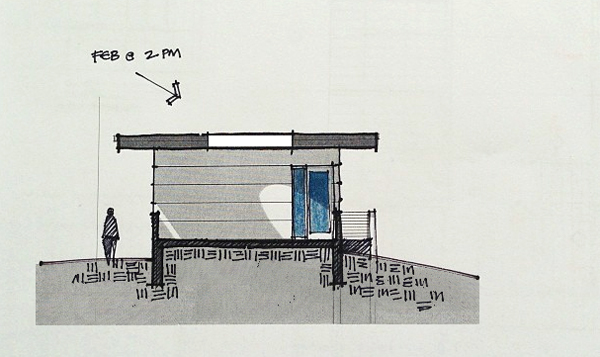 Oculus sketch for the KHouse Modern