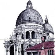 Santa Maria Della Salute sketch