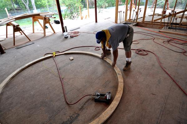 building the oculus