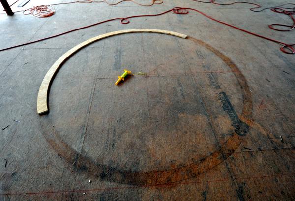 oculus pattern on the floor