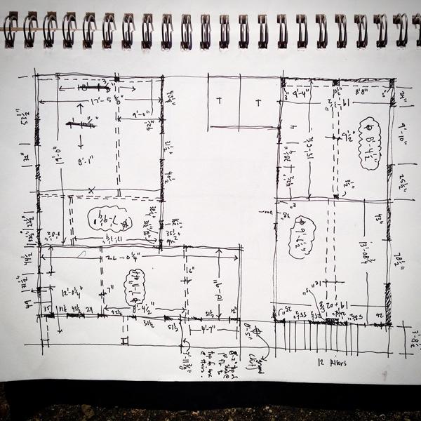 floorplan as-built for Colegio Cristiano Marileidy in Santo Domingo