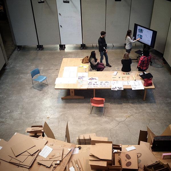 University of Maryland School of Architecture open studio