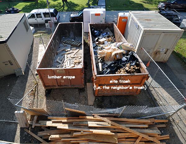 lumber scraps