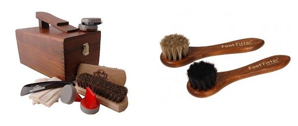 Kiwi Shoe Shine Kit - What to get an Architect for Chrsitmas