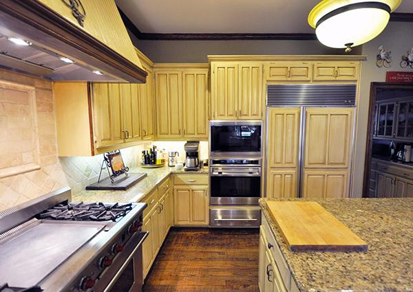 Richard Chamberlain's Home Kitchen