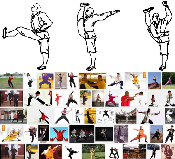 Kung Fu Stances