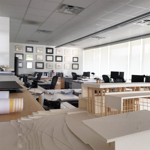 MMB Architects Office - photo by Julie Pizzo