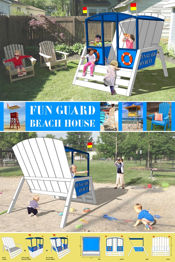 Susann Stein-Fun Guard Beach House