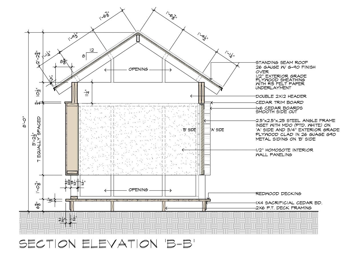 Movie theater playhouse the construction drawings the for Playhouse floor plans