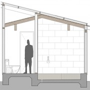 Shower Elevation graphic