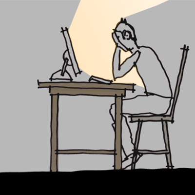Writting a blog from your parents basement