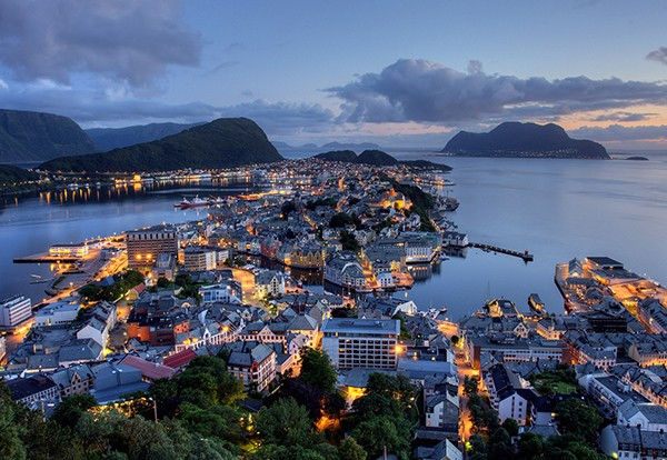 Alesund Town Norway