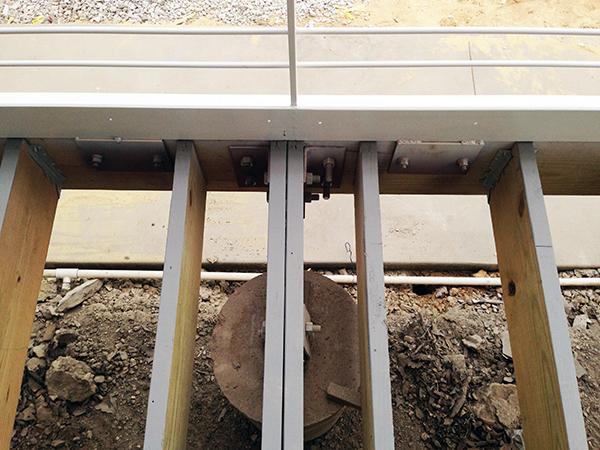 wood deck framing