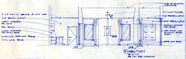 Bob Borson - Occhiali Interior Elevation 3