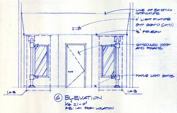 Bob Borson - Occhiali Interior Elevation 6