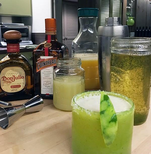 Bob Borson's Texas Architect Margarita ingredients
