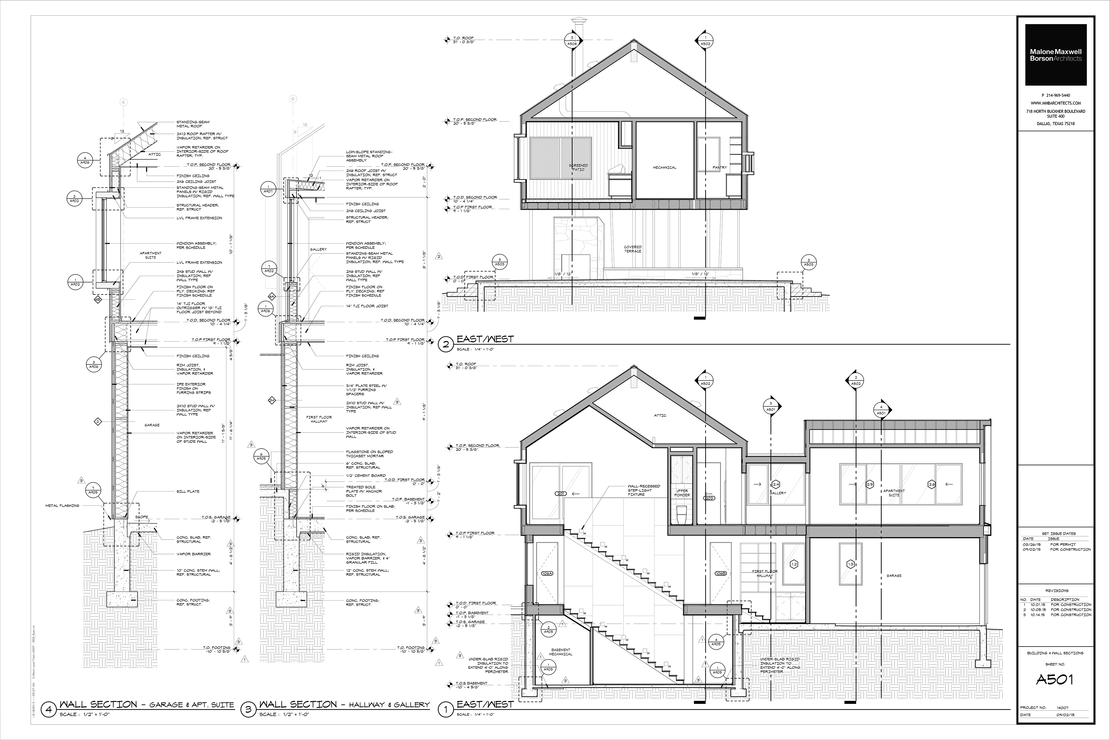 The Cabin Project Technical Drawings Life Of An Architect