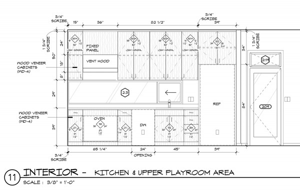 Kitchen Millwork after AWI Casework Design Series tags