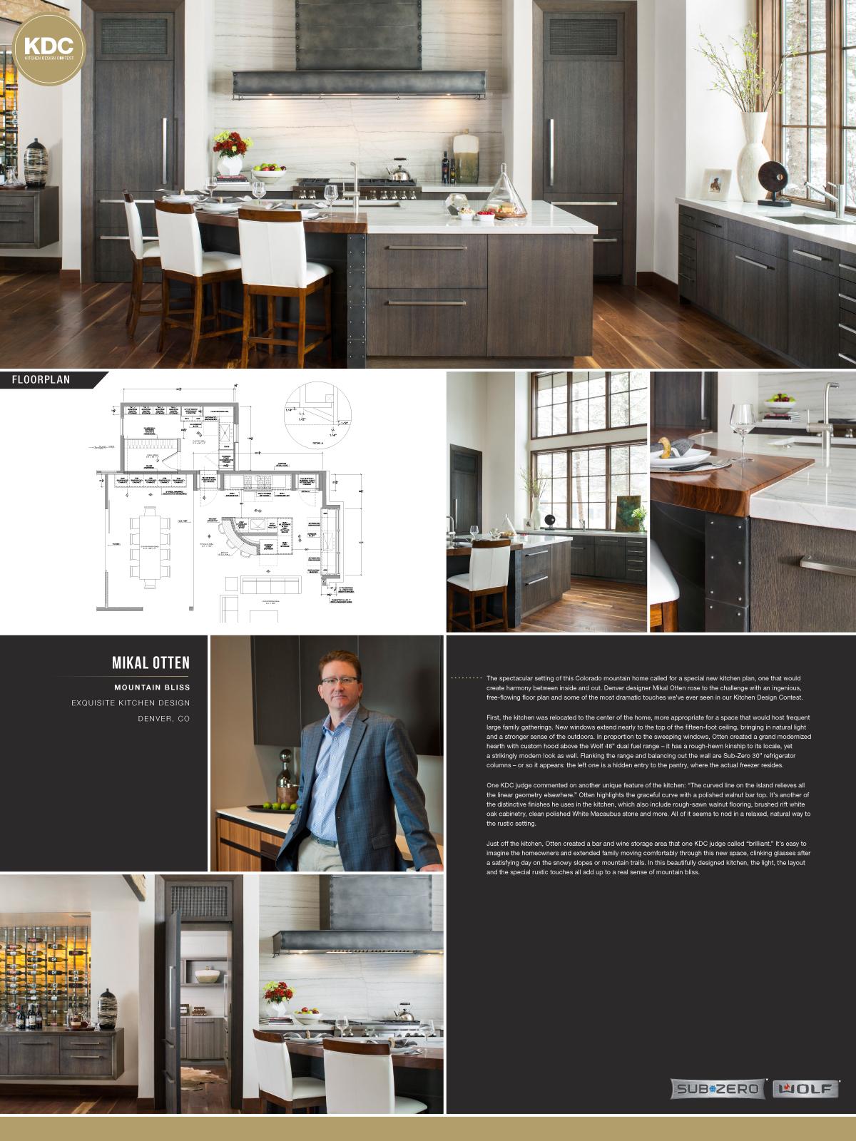SubZero  Wolf Kitchen Design Contest Life Of An Architect - Kitchen design winnipeg