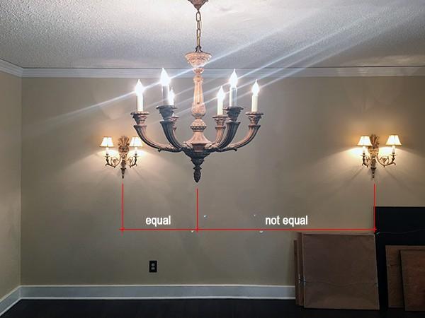 Lights not aligning