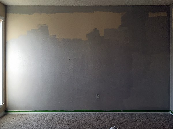 Painting from the bottom up