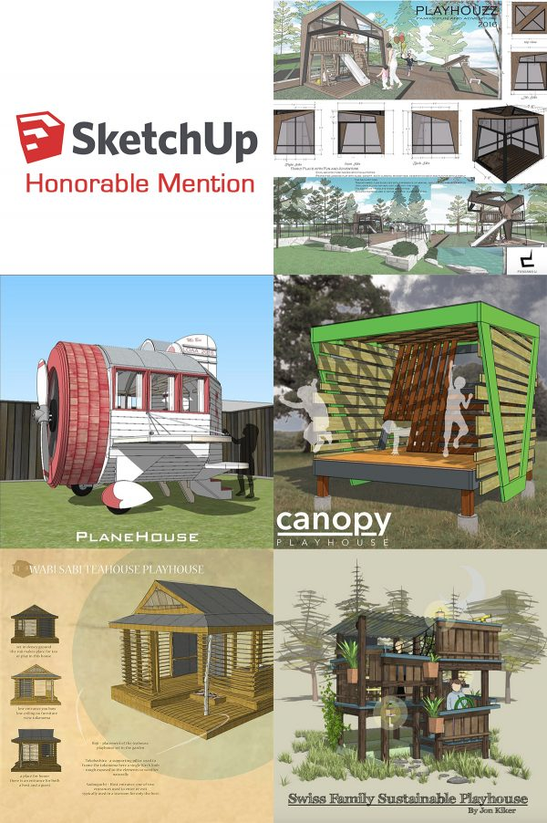 SketchUp Honorable Mention