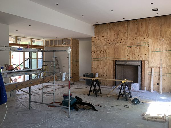 plywood for wood paneling