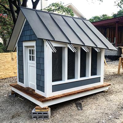 The Cottage House - Playhouse by Dallas Architect Bob Borson