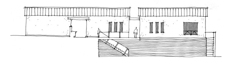 building-section-elevation-sketch-01